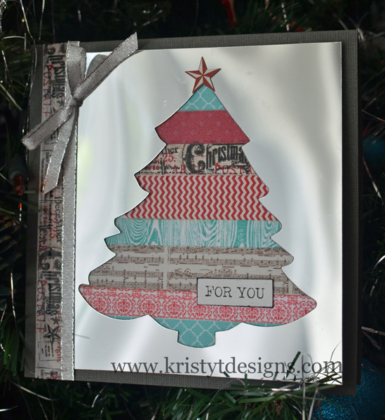 Mirror Sheet Christmas Card